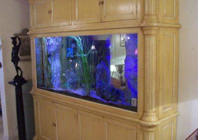 armoire aquarium